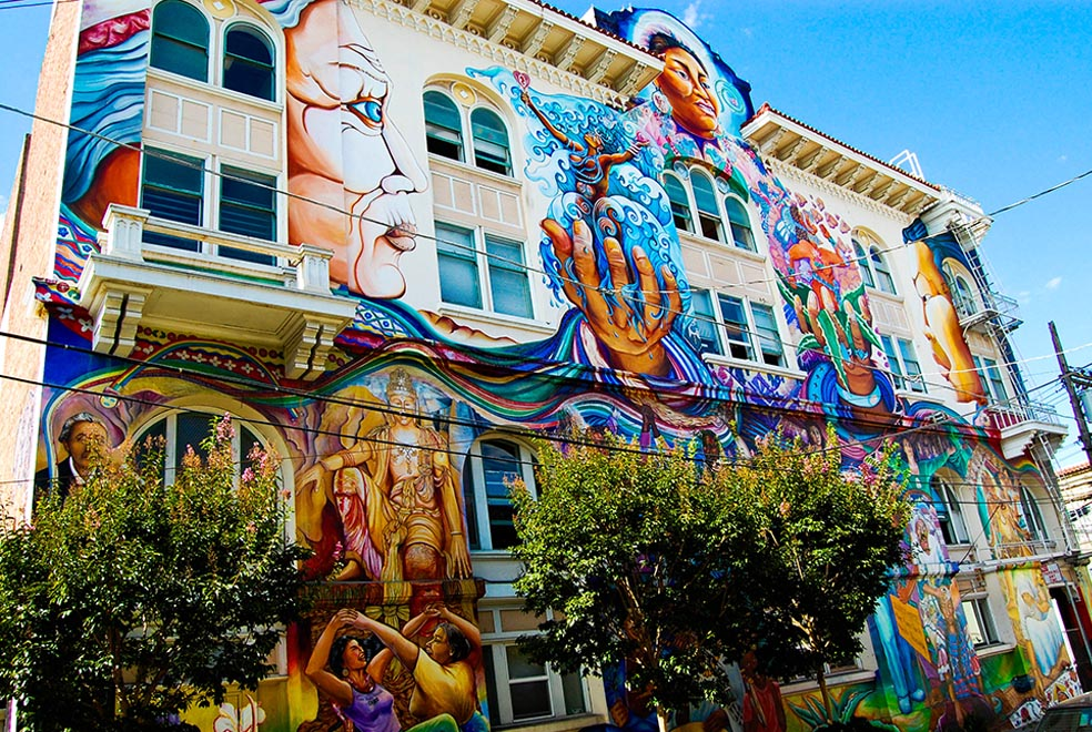 How san francisco s mission district leverages cultural for Creating a mural