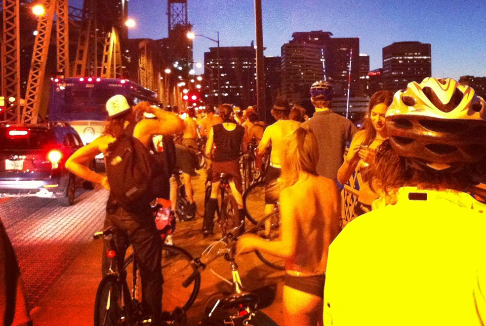 world naked bike ride blooming rock 1